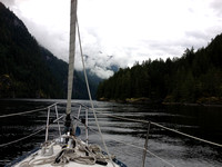 Approach to Princess Louisa, BC