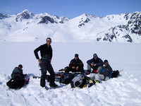 PZ on the Scott Glacier